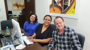 Drs. Sandra Lins, Marta e Paulo R. Margotto. Em live no dia  20/6/2020)