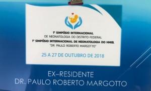1º Simpósio Internacional de Neonatologia do DF e HMIB: 25-27/10/2018