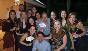 Staffs e R4 em Neonatologia do HMIB em Confraternização-7-12-2018