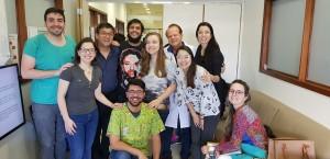 Discussão da Microbiota Intestinal sob Coordenação do Dr. Carlos A. Zaconeta e Paulo R. Margotto com os Residentes de Neonatologia do HMIB/SES/DF (27/5/2019)