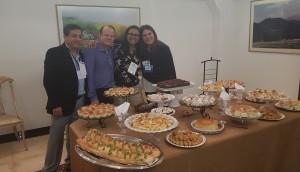 Drs. Carlos Zaconeta, Paulo R. Margotto, Marta DR de Moura e Sandra Lins (25-10-18)