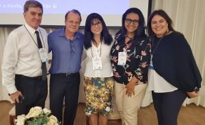 Dr. s Denis Burns, Paulo R. Margotto, Rita Silveira, Marta DR de Moura  e  Sandra Lins (25/10/2018)